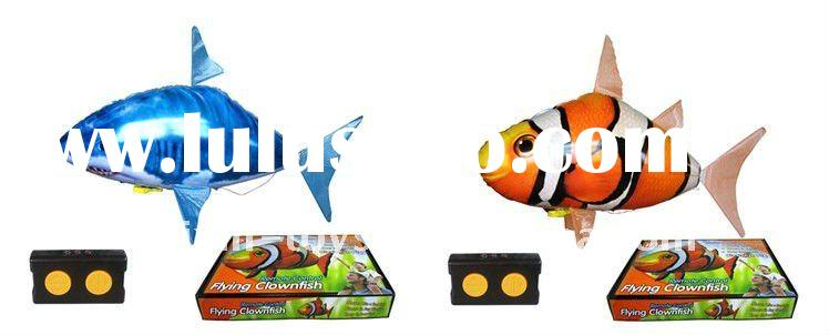 Best selling inflatable hot air flying fish air swimmer