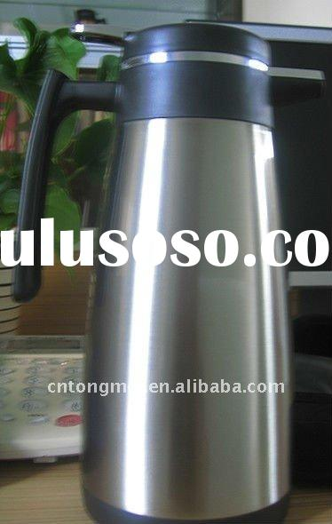 Double wall  stainless steel  vacuum coffee pot
