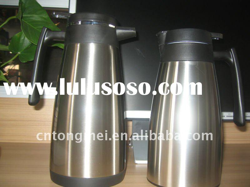 New design Double wall  stainless steel  vacuum coffee pot