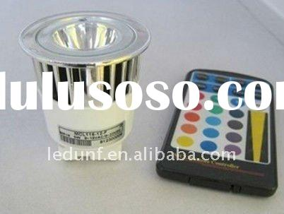 RGB 5W GU5.3 MR16 LED LAMP