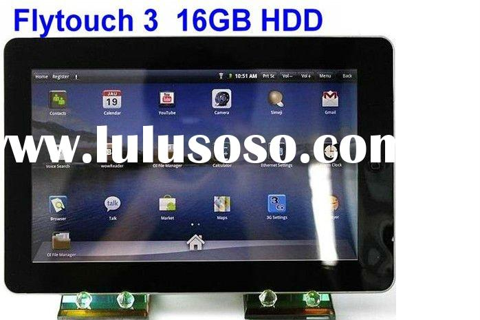 "10.2"" Flytouch 3 16GB Camera GPS Android 2.2 tablet pc"