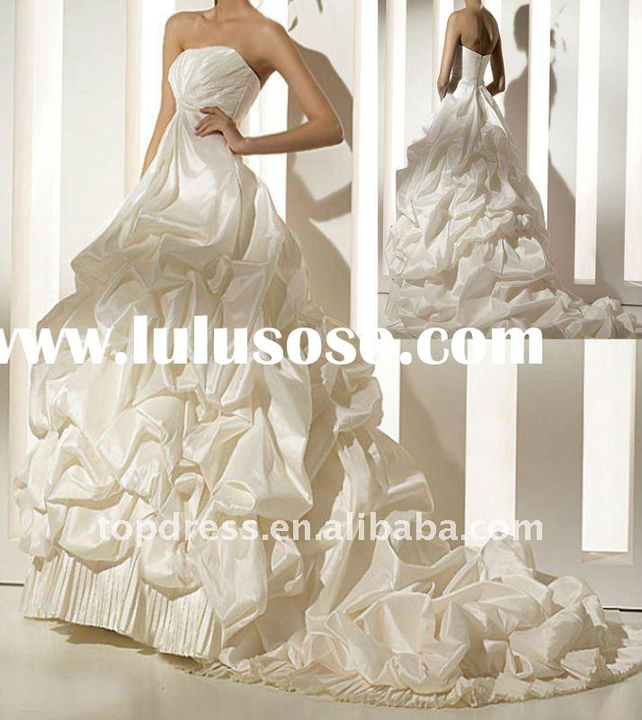 2011 Christmas ball gown wedding dresses WDS777-701