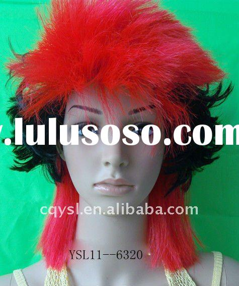 Fashionable Halloweenblown out synthetic wigs for sale YSL11--6320