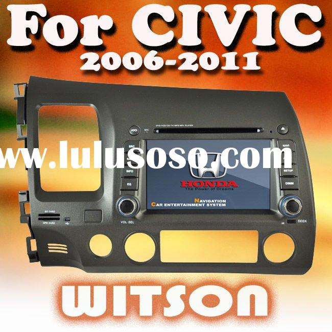 WITSON 7 inch car dvd player for honda civic