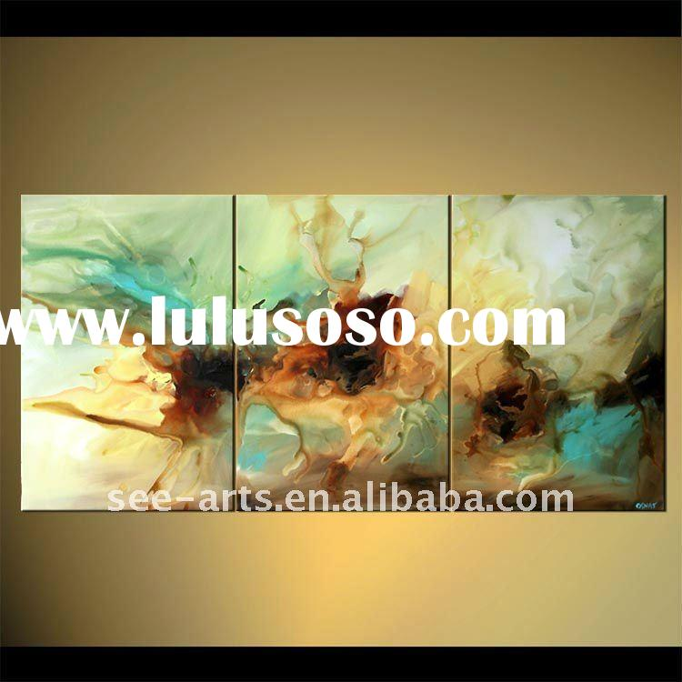abstract wall group paintings modern designs