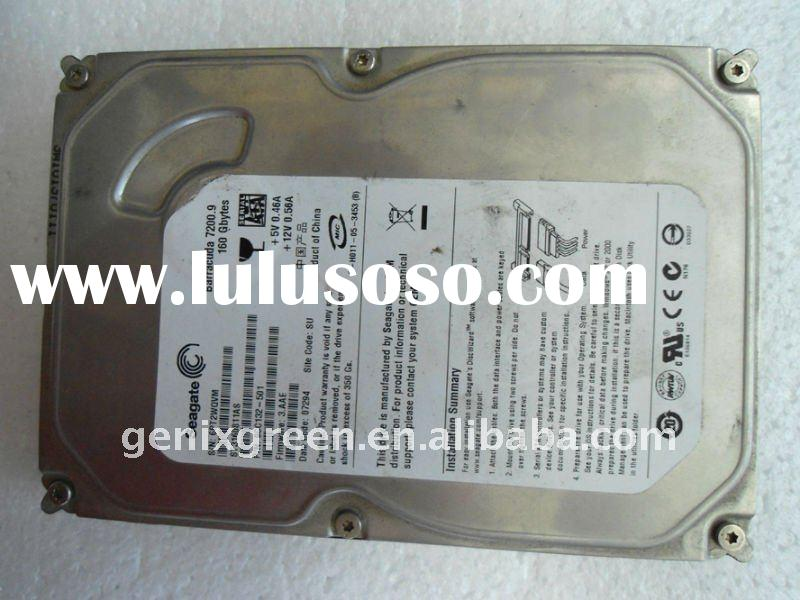 "stock 160g sata hard drive for desktop,3.5"" used and clean"