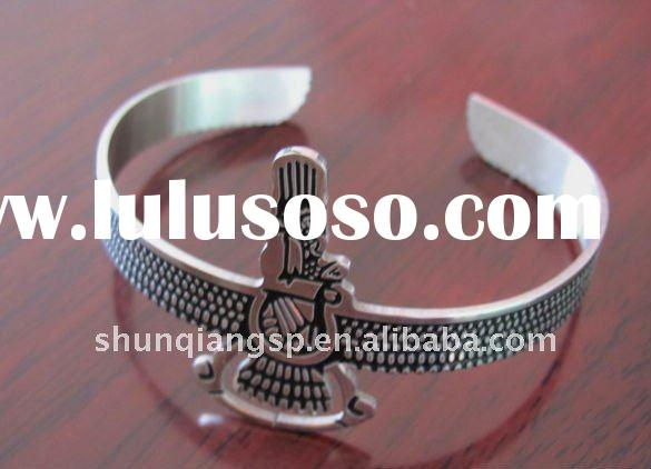 2011 Fashion Casting Bangles Engravable Stainless Steel Jewelry