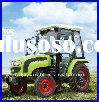35HP,4X4WD mini wheeled farm tractor,EEC,EPA,diesel engine,8+2 shift,with Cabin,front loader,fork,bl
