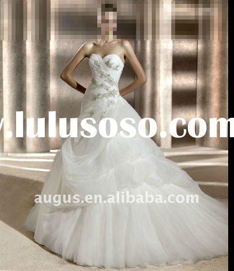 AW083 2012 Latest Sweetheart A Line wedding dresses