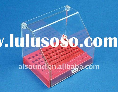 High quality acrylic jewelry display acrylic jewelry box