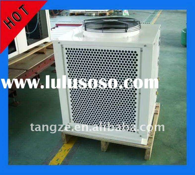 Air source heat pump for hair saloon use