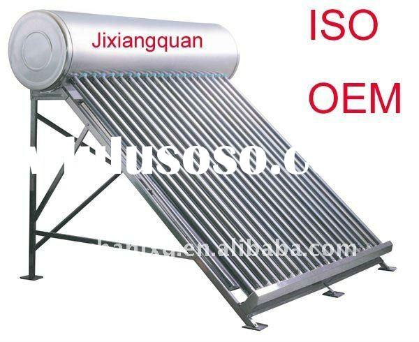 High quality compact non-pressurized solar water heater