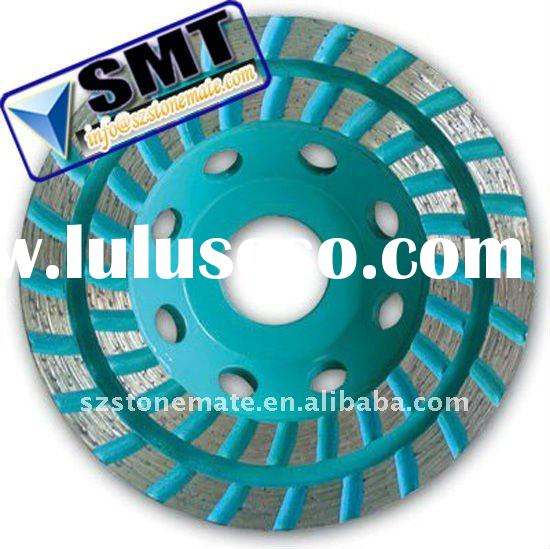 Stone Grinding Double-Row Turbo Diamond Cup Wheel