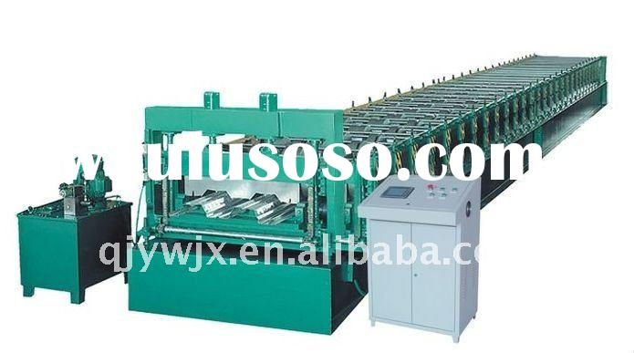 floor deck roll forming machine with CNC control