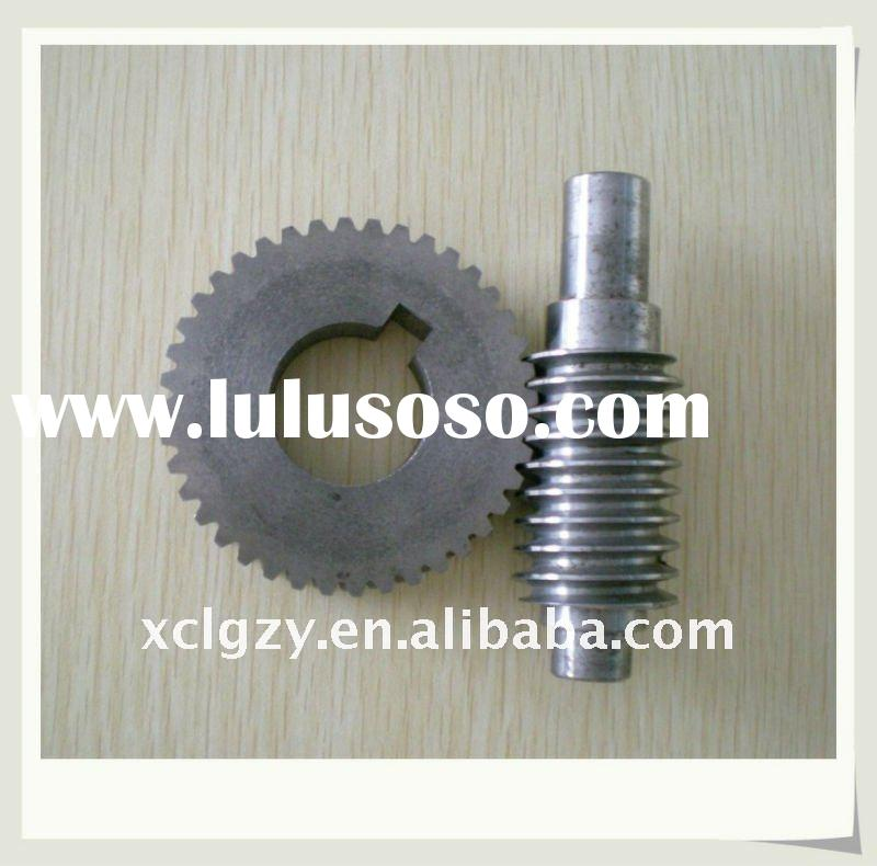 worm shaft and iron worm gear/wheels