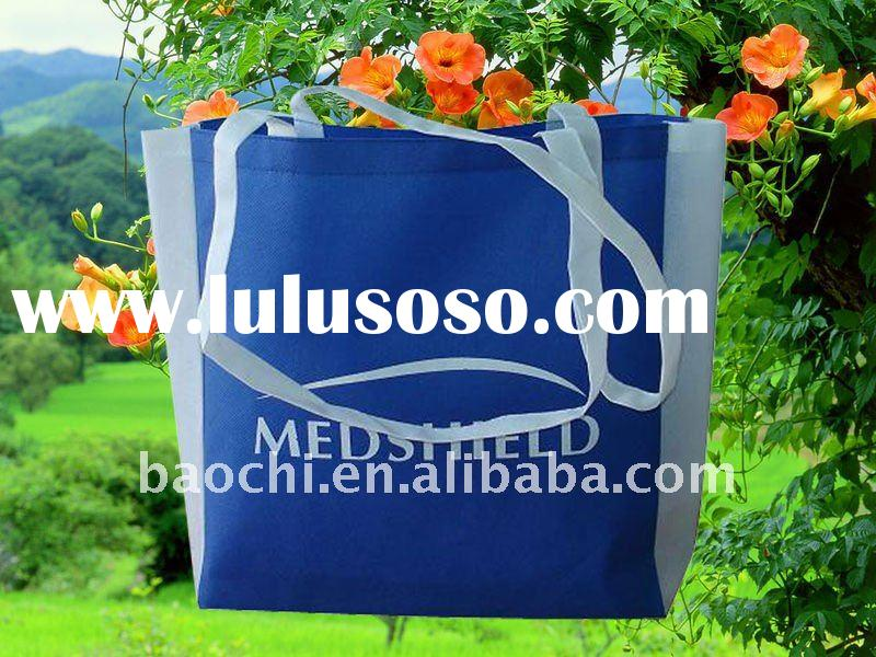 Eco-friendly recycle shopping non woven bag with customized