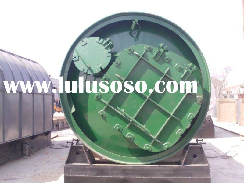 used rubber tires recycling machines