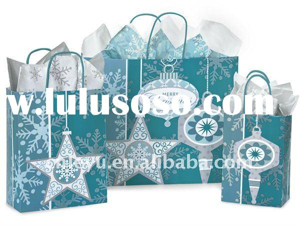 Christmas Ornaments Paper shopping gift bags