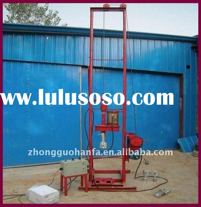Economical, Practical Electromotor Driven,two people operate HF150E Portable Water well Drilling Rig