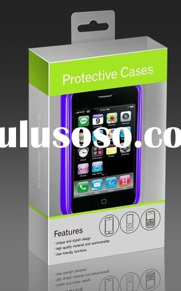 PVC Iphone Box Clear or Printing