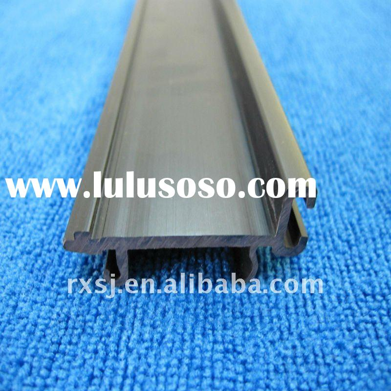 RX-201110211  black PVC profile used in industry