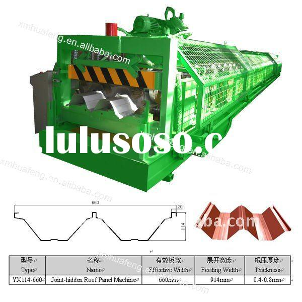 YX114-660 Roof Roll Forming Machine