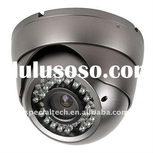 540TVL  CCD High Resolution 40M IR Day / Night Vandal Proof 4-9mm VariFocal Dome Camera