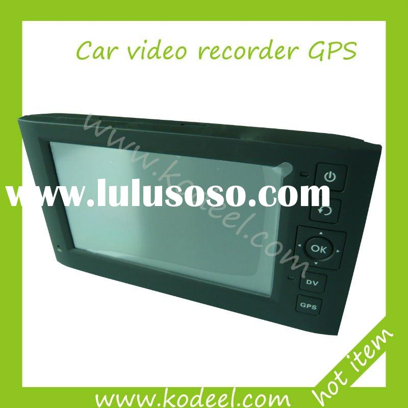 4.3 inch dvr car camera with gps navigation windows CE 6.0 system