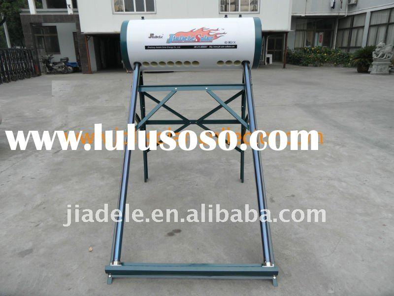 Double inner tank solar water heater