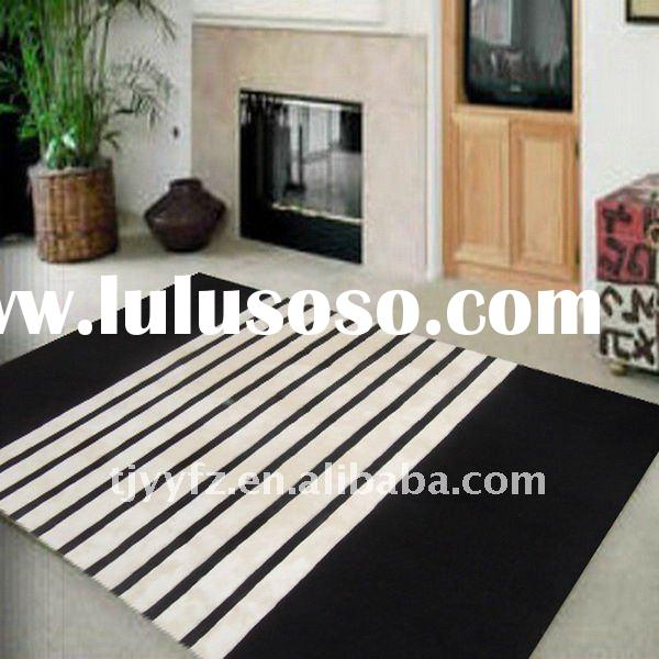 Modern Hand Tufted Carpet Piles and Floor Carpet