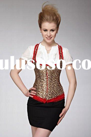 New!BX03 Leopard corset with shoulder strap36