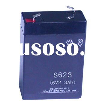 6V2.3AH Sealed Maintenance Free SMF lead acid Battery