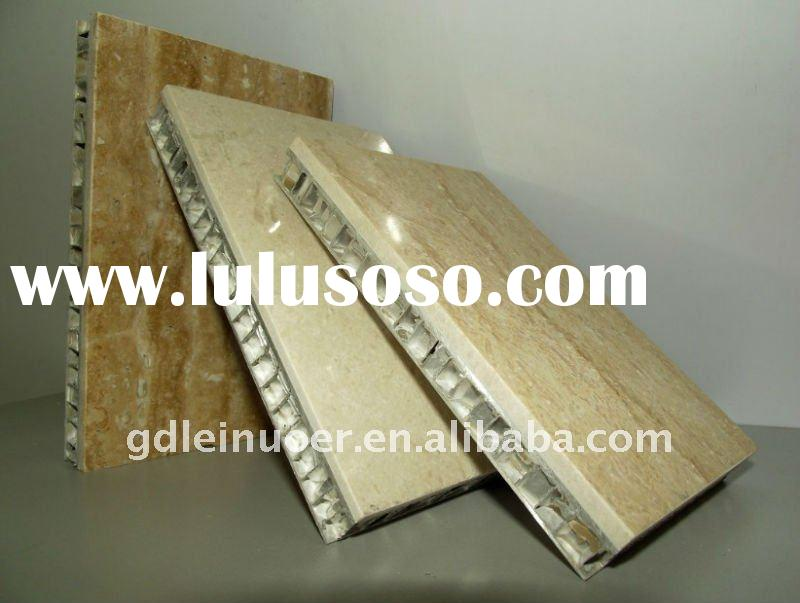 Aluminum honeycomb panel/marble honeycomb panel/marble/soundproof material
