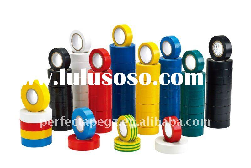 Colored PVC Electrical Tape (natural rubber adhesive)