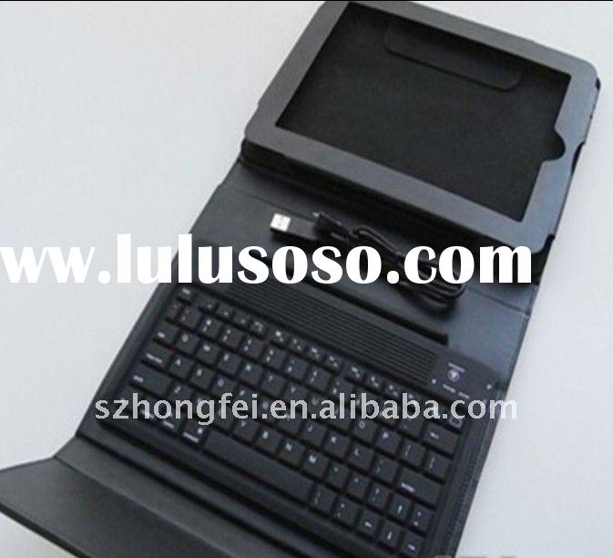 Top quality ipad2 case with bluetooth and keyboard