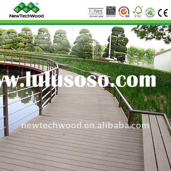 Wood Composite Decking, environmental friendly