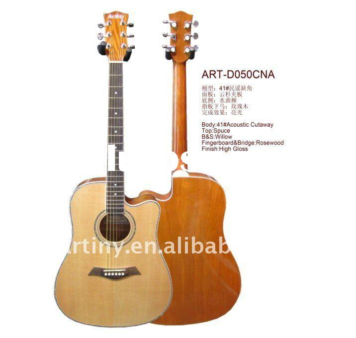 Artiny 41 Acoustic Guitar ART-D050CNA.Hot sell to Brazil