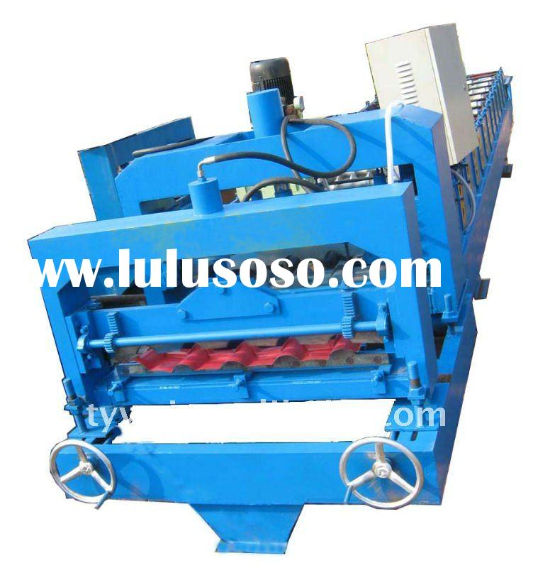 Automatic 696 cold roll forming machine