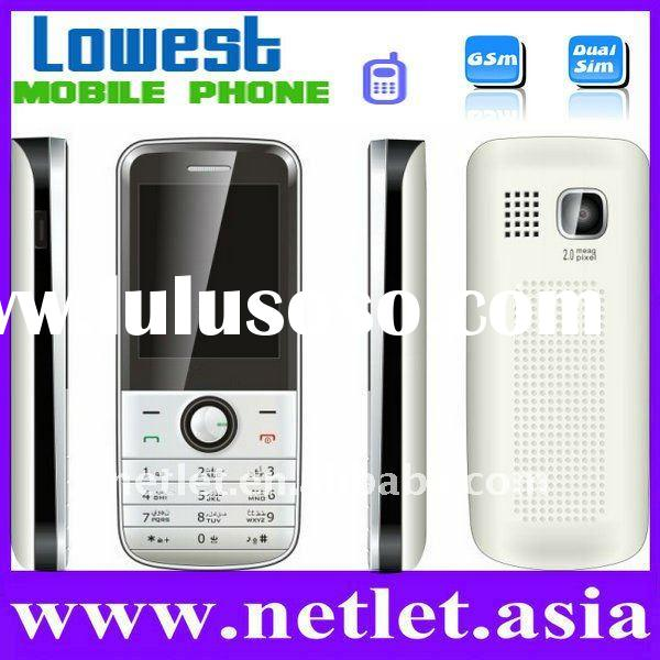 China Newest Dual Sim Cheap Mobile Phone
