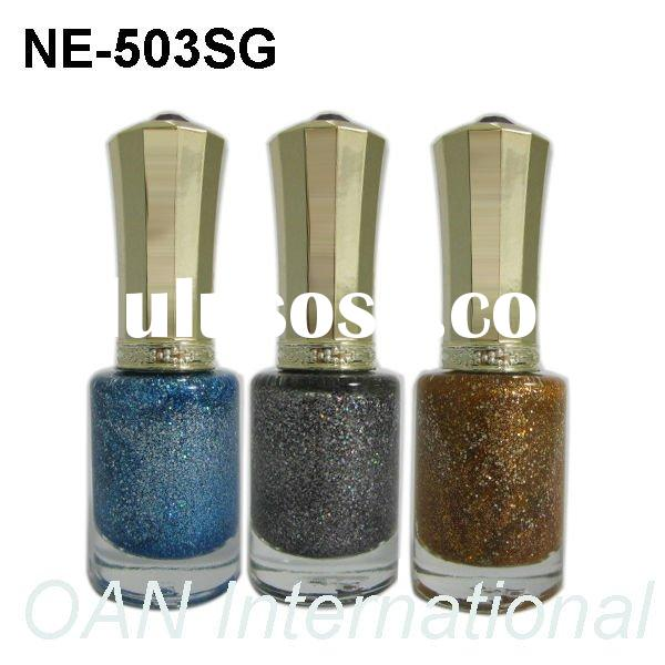 New Nail Art Nail Enamel - Shiny Sparkle Glitter Nail Polish