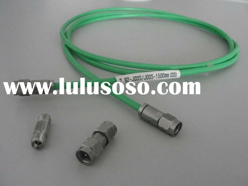 RF Coaxial Flexible Low loss Cable Assembly of K connectors for test