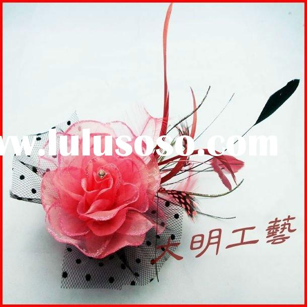 feather corsage fashion pin broochfashion ladies broochflower brooches