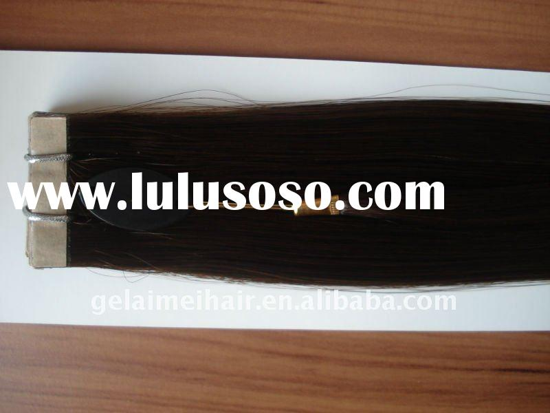 2011 newest -- pu tape Indian remy hair extensions