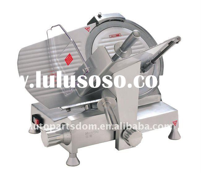 AUTOMATIC MEAT SLICER WITH SAFETY SELF-LOCKING FUCTION