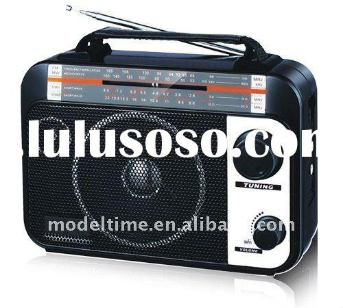 NEW AM/FM/SW 3band Portable Radio with USB/SD Slot