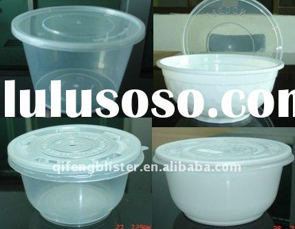 PP Disposable plastic food container packaging,food box,storage box and bowl