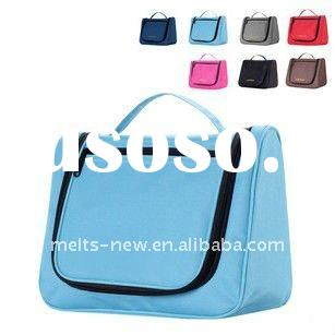hot sale wholesale multi-functional hanging travel cosmetic bags