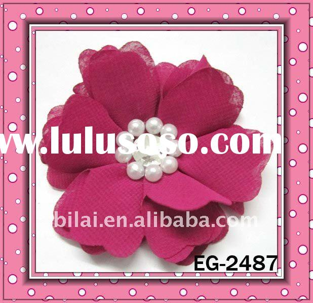 european designer hair accessories fashion fabric flowers bow brooch/hairbands/headbands/hairpins  E