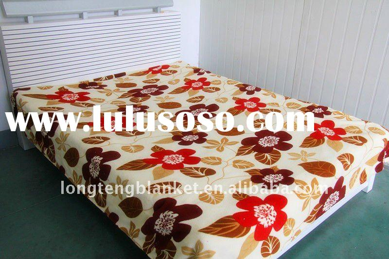 100% Polyester New Design Washable Home Use Coral Fleece Blanket