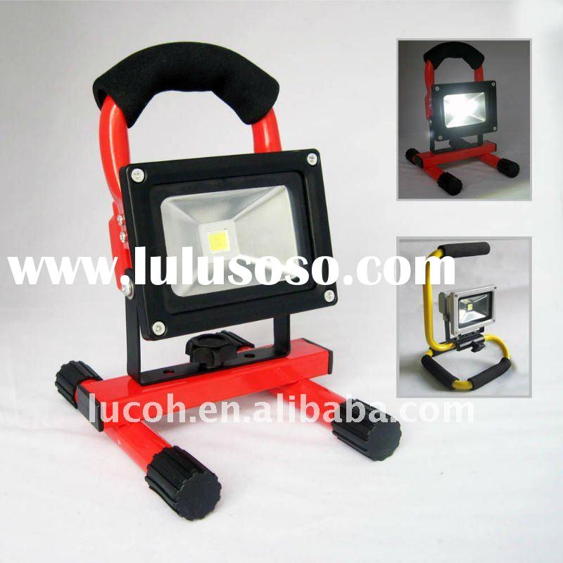 10W high power rechargeable stand portable LED work light
